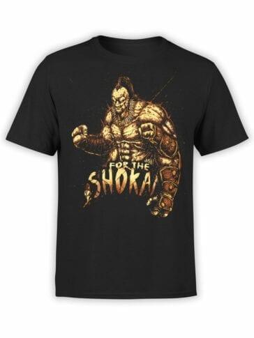 1291 Mortal Kombat T Shirt Shokai Front