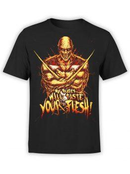 1293 Mortal Kombat T Shirt Your Flesh Front