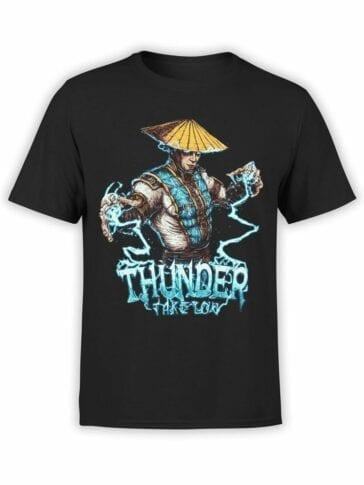 1295 Mortal Kombat T Shirt Thunder Front
