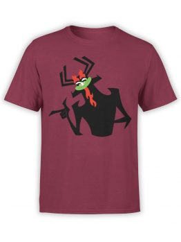 1296 Samurai Jack T Shirt Hey Front