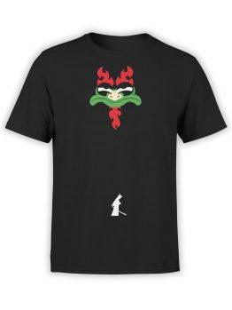 1298 Samurai Jack T Shirt Opposition Front