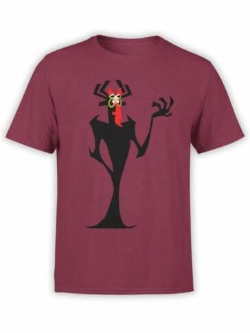1301 Samurai Jack T Shirt Poetic Aku Front