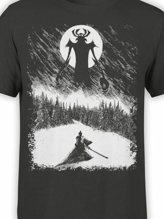 1303 Samurai Jack T Shirt Engraving Front Color