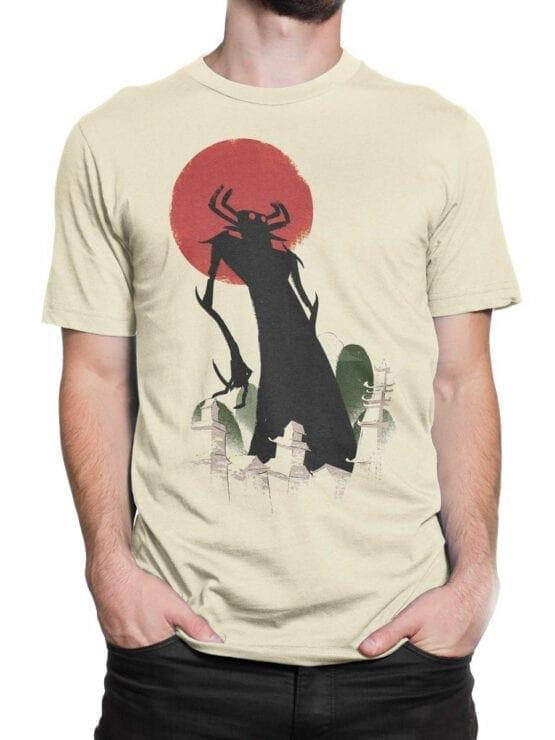 1305 Samurai Jack T Shirt Silhouette Front Man 2