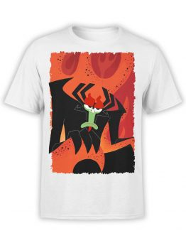 1307 Samurai Jack T Shirt Throne Front