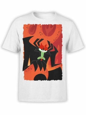 1307 Samurai Jack T Shirt Throne Front