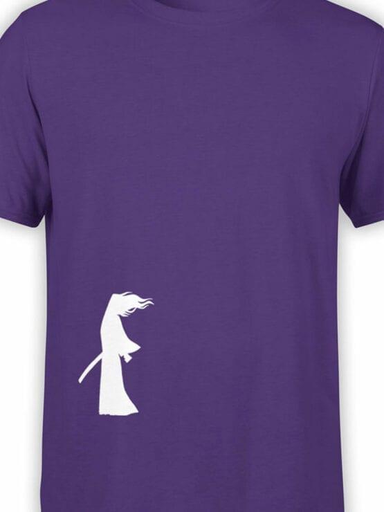 1310 Samurai Jack T Shirt Wind Front Color