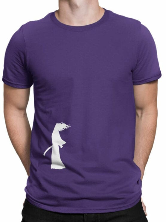 1310 Samurai Jack T Shirt Wind Front Man