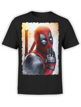 1311 Deadpool T Shirt Oops Front