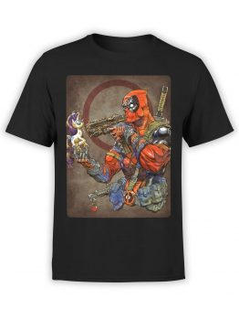 1316 Deadpool T Shirt Hey Front