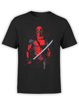1317 Deadpool T Shirt Hero Front