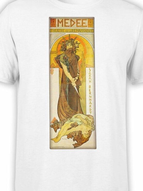 1323 Alphonse Mucha T Shirt Medee Front Color