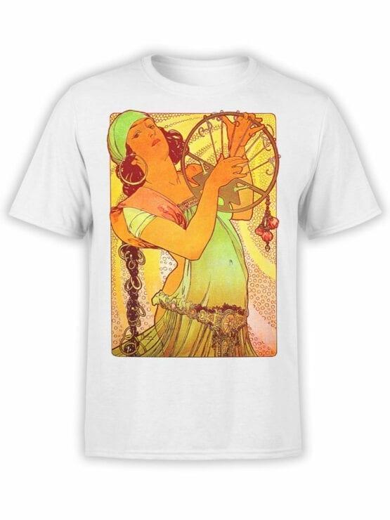 1327 Alphonse Mucha T Shirt Salome Front