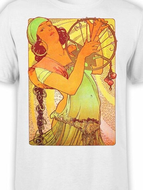 1327 Alphonse Mucha T Shirt Salome Front Color