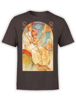1330 Alphonse Mucha T Shirt Slav Epic Front