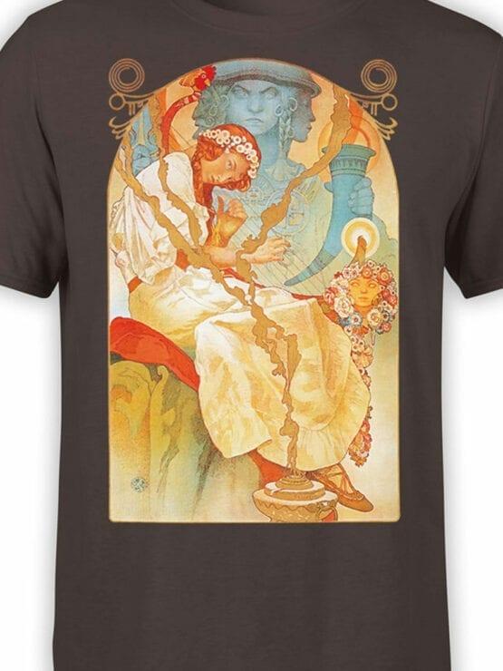 1330 Alphonse Mucha T Shirt Slav Epic Front Color