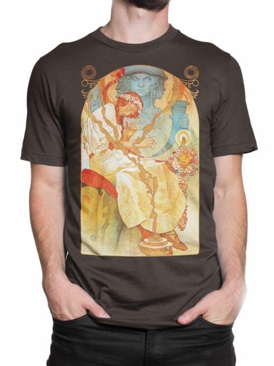 1330 Alphonse Mucha T Shirt Slav Epic Front Man 2