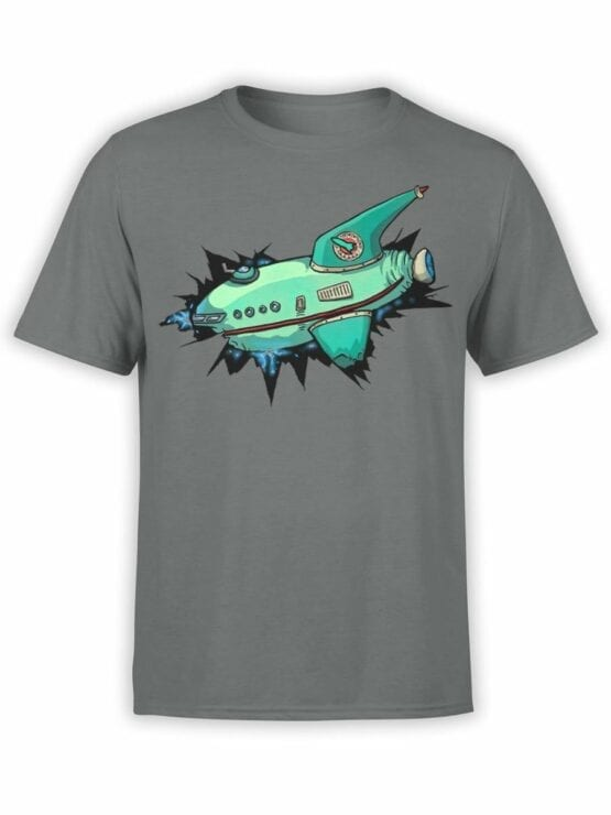 1333 Futurama T Shirt Ship Front