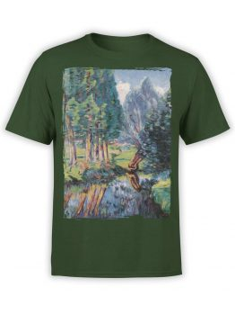 1343 Armand Guillaumin T Shirt Landscape at Breuillet Front