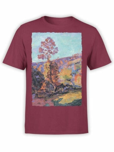 1344 Armand Guillaumin T Shirt Landscape at Crozant Front