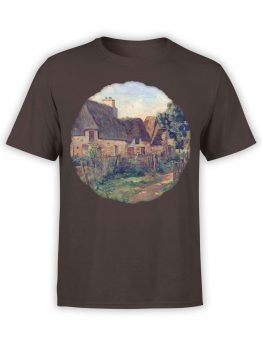 1345 Armand Guillaumin T Shirt Landscape of Ile de France Front