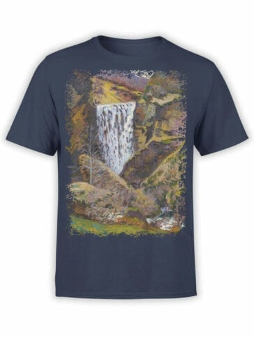 1346 Armand Guillaumin T Shirt Landscape of the Creuse Front