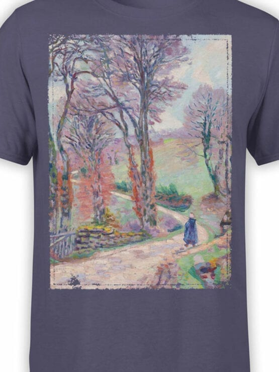 1347 Armand Guillaumin T Shirt Creuse Front Color