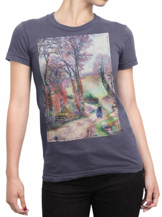 1347 Armand Guillaumin T Shirt Creuse Front Woman
