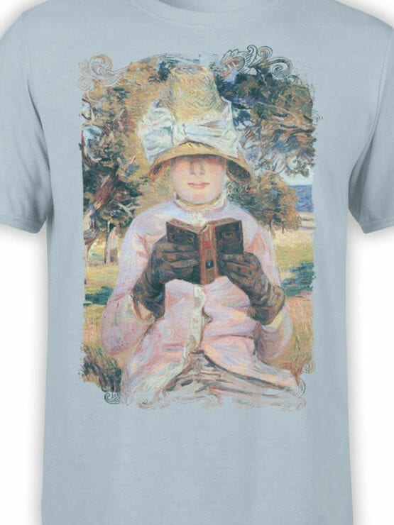 1349 Armand Guillaumin T Shirt Madame Guillaumin Reading Front Color