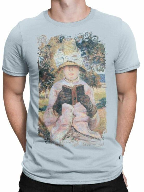1349 Armand Guillaumin T Shirt Madame Guillaumin Reading Front Man