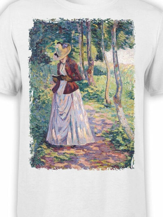 1350 Armand Guillaumin T Shirt Madame Guillaumin Front Color