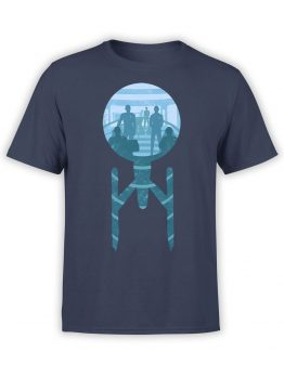 1358 Star Trek T Shirt Ship Front