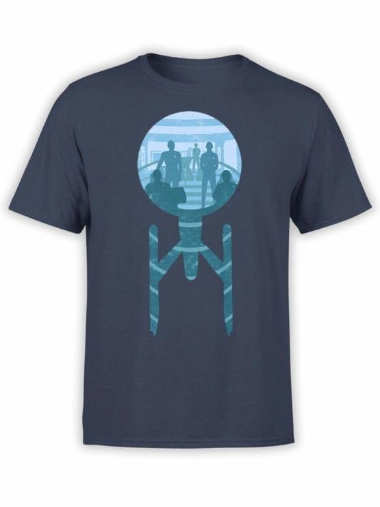 1358 Star Trek T Shirt Ship Front