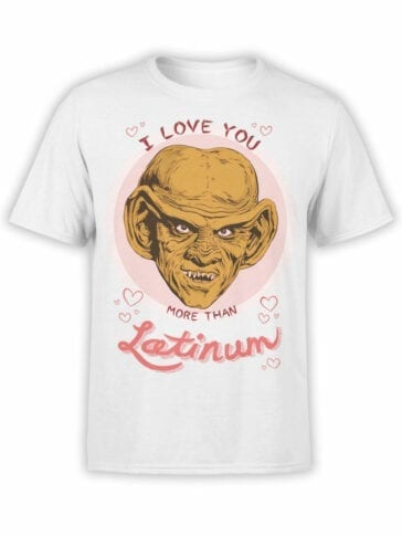 1359 Star Trek T Shirt Latinum Front