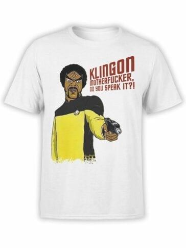 1360 Star Trek T Shirt Klingon Front