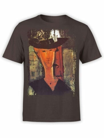 1361 Amedeo Modigliani T Shirt Madame Pompadour Front