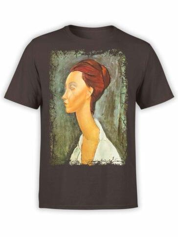 1365 Amedeo Modigliani T Shirt Lunia Czechovska Front