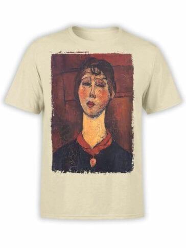 1368 Amedeo Modigliani T Shirt Madame Dorival Front