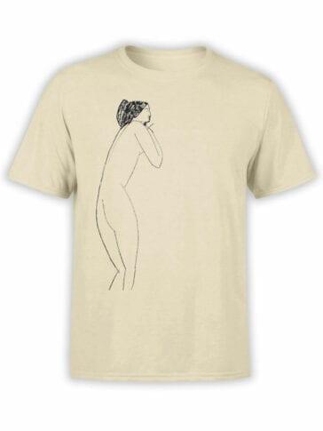 1370 Amedeo Modigliani T Shirt Anna Akhmatova Front