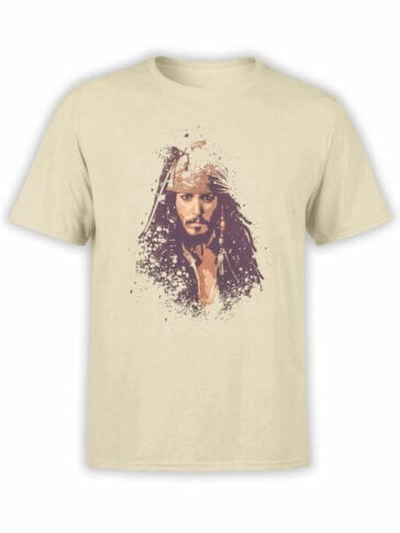1371 Pirates of the Caribbean T Shirt Jack Front