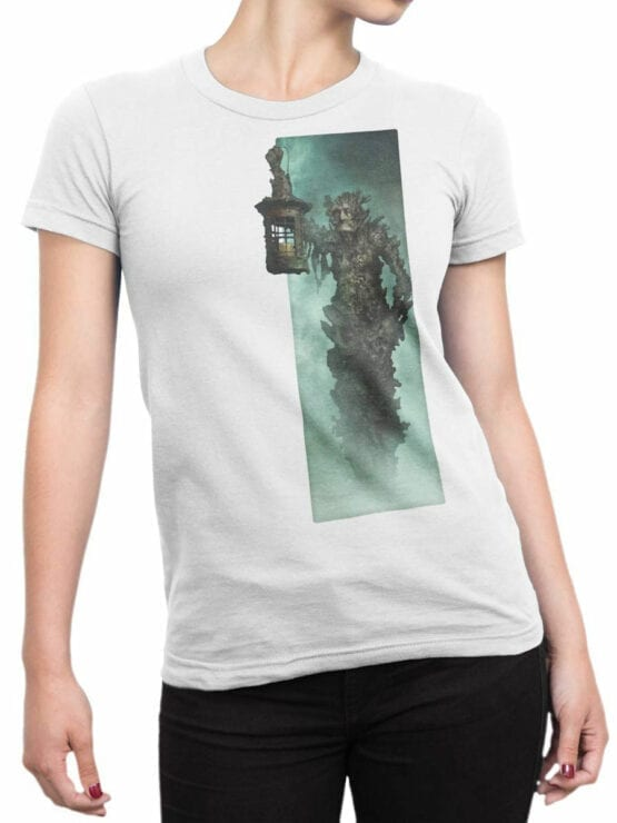 1378 Pirates of the Caribbean T Shirt Flying Dutchman Front Woman