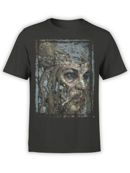 1380 Pirates of the Caribbean T Shirt Dead Jack Front