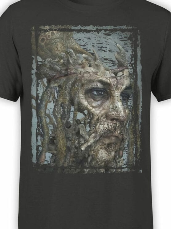 1380 Pirates of the Caribbean T Shirt Dead Jack Front Color