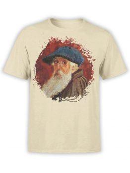 1386 Camille Pissarro T Shirt Self Portrait Front