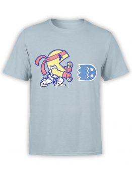 1391 Pac Man T Shirt Fireball Front