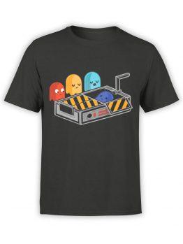 1393 Pac Man T Shirt Dead Front