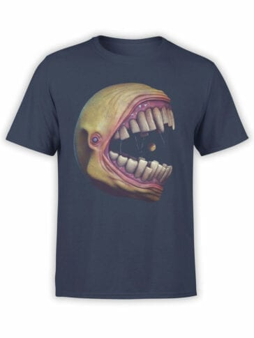 1395 Pac Man T Shirt Pac Monster Front