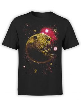 1396 Pac Man T Shirt Pac Moon Front