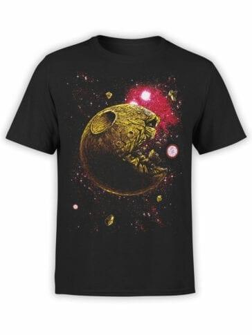 1396 Pac Man T Shirt Pac Moon Front