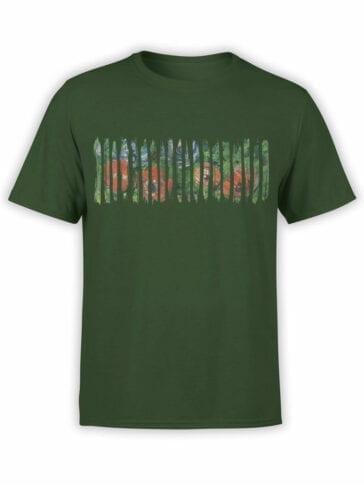 1403 Claude Monet T Shirt Anemonies Front